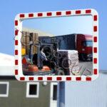 Lustro drogowe akrylowe u18b