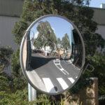 lustro zewnętrzne akrylowe okrągłe